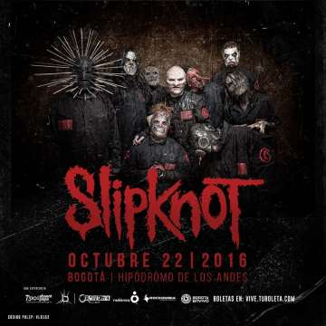 Slipknot En Colombia - rock en espa�ol - rockeros.net