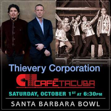 Thievery Corporation Cafe Tacuba En Santa Barbara Bowl Octubre 1 - rock en español - rockeros.net