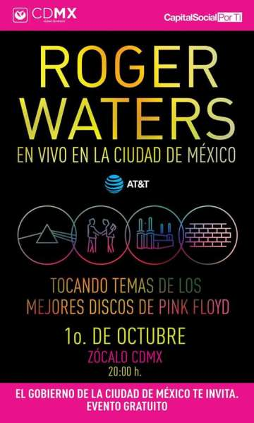 Roger Waters En Vivo En La Cdmx - rock en espa�ol - rockeros.net