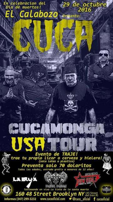 Cucamonga Usa Tour En New York - rock en espa�ol - rockeros.net