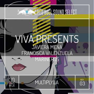 Red Bull Sound Select Viva Presents Javiera Mena En El Multiply De Los Angeles - rock en espa�ol - rockeros.net