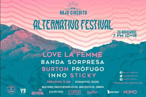 Alternativo Festival - rock en espa�ol - rockeros.net