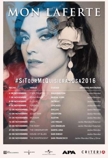 Mon Laferte En El State Theatre Washington Dc - rock en espa�ol - rockeros.net