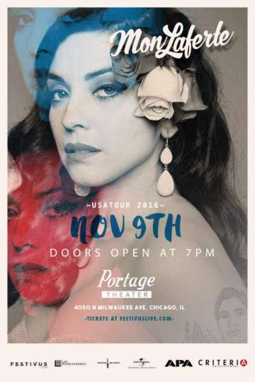 Mon Laferte En El The Portage Theatre Chicago Illinois - rock en espa�ol - rockeros.net