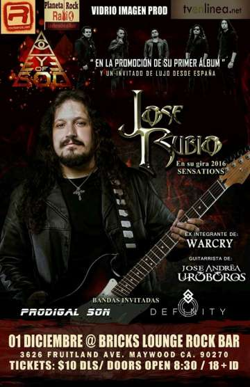Eye Of God Y Jose Rubio En Concierto - rock en espa�ol - rockeros.net