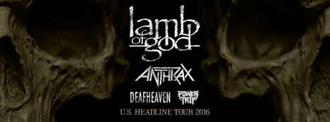 Lamb Of God-anthrax-deafheaven Y Power Trip En El Hollywood Palladium - rock en espa�ol - rockeros.net