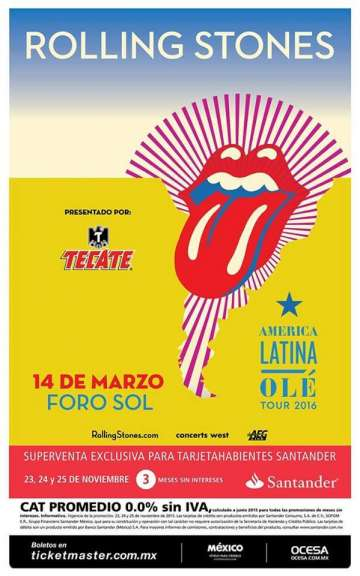 The Rolling Stones En Mexico - rock en espa�ol - rockeros.net