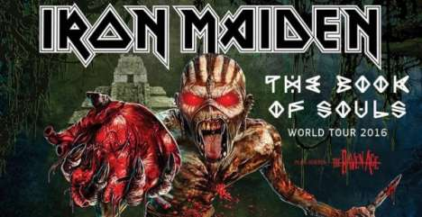 Iron Maiden En El Forum De Inglewood California - rock en espa�ol - rockeros.net