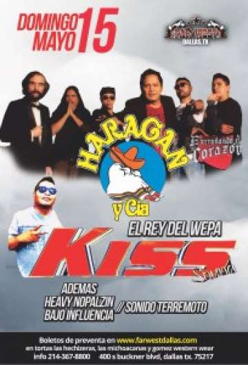 El Haragan Y Cia Heavy Nopal Kiss Sound En El Far West De Dallas - rock en espa�ol - rockeros.net