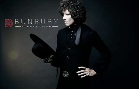 Enrique Bunbury Mutaciones Tour 2016 Riverside Municipal Auditorium - rock en espa�ol - rockeros.net