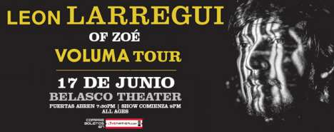 Leon Larregui En The Belasco Theater De Los Angeles - rock en espa�ol - rockeros.net