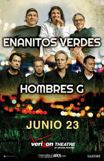Enanitos Verdes Y Hombres G En El Verizon Theatre De Grand Prairie Dallas Tx - rock en espa�ol - rockeros.net
