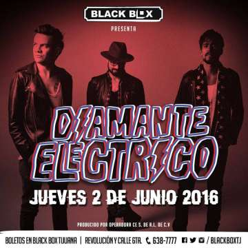 Diamante Electrico En Tijuana - rock en espa�ol - rockeros.net