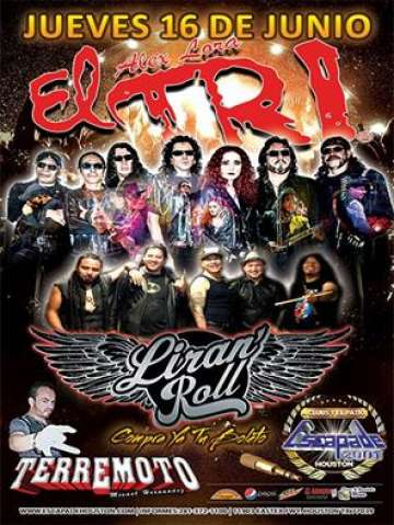 El Tri Y Liran Roll En Houston Tx - rock en espa�ol - rockeros.net