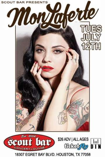 Mon Laferte En El Scout Bar De Houston Tx - rock en espa�ol - rockeros.net