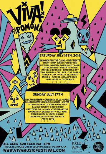 Viva Pomona Shannon And The Clams Vanessa Zamora Los Blenders En The Glass House - rock en espa�ol - rockeros.net
