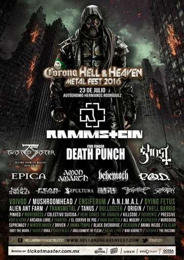 Hell And Heaven Fest 2016 - rock en espa�ol - rockeros.net