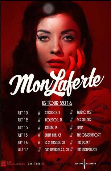 Mon Laferte En The Independant De San Francisco - rock en espa�ol - rockeros.net