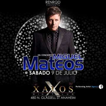 Miguel Mateos Xalos Night Club - rock en espa�ol - rockeros.net