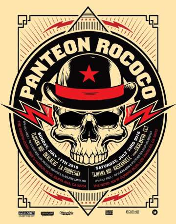 Panteon Rococo Tijuana No Raskahuele La Banda Skalavera En The Novo Los Angeles - rock en espa�ol - rockeros.net