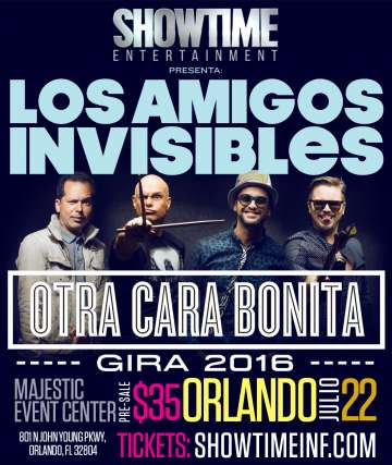 Los Amigos Invisibles - rock en espa�ol - rockeros.net
