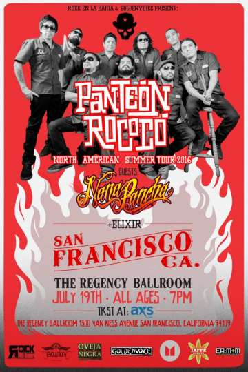 Panteon Rococo En San Francisco - rock en espa�ol - rockeros.net
