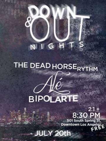 Ale Bipolarte The Dead Horse Rythm En El Down And Out De Los Angeles - rock en espa�ol - rockeros.net