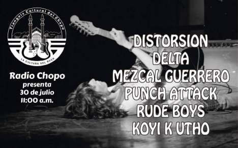 Rock En El Chopo Con Distorsion- Delta- Rude Boys - rock en espa�ol - rockeros.net