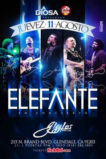 Elefante En Los Angeles - rock en espa�ol - rockeros.net