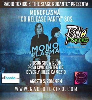 Monoplasma Cd Release Party Sos - rock en espa�ol - rockeros.net