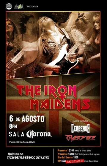 The Iron Maidens - rock en espa�ol - rockeros.net