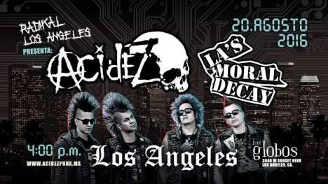 Acidez En Los Angeles - rock en espa�ol - rockeros.net