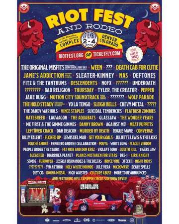 Riot Fest Denver The Original Misfits Deftones En El National Western Complex - rock en espa�ol - rockeros.net