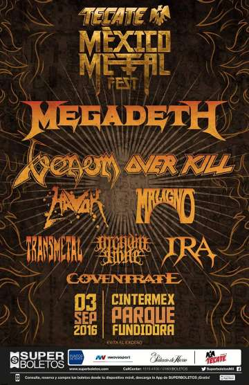 Mexico Metal Fest - rock en espa�ol - rockeros.net