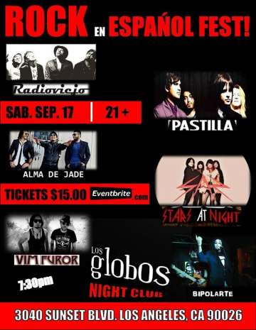 Pastilla Vim Furor Stars At Night Radio Viejo En Los Globos De Los Angeles Ca - rock en espa�ol - rockeros.net