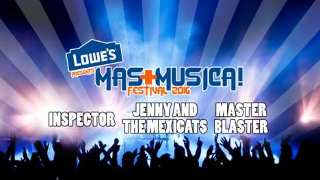 Lowes Presents Mas Musica Fest Inspector-jenny And The Mexicats-master Blaster - rock en espa�ol - rockeros.net
