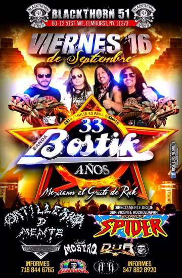 Banda Bostik En New York - rock en espa�ol - rockeros.net