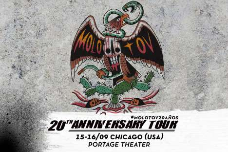 20th Anniversary Tour De Molotov - rock en espa�ol - rockeros.net