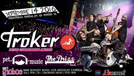 Troker Pet The Music The Drizz En Los Globos De Los Angeles - rock en espa�ol - rockeros.net