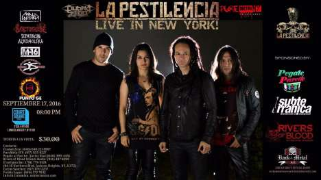 La Pestilencia Live In New York Derribando Hipocritas Sociedades - rock en espa�ol - rockeros.net