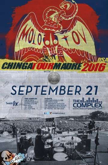 Molotov Chinga Tour Madre En Salt Lake City - rock en espa�ol - rockeros.net