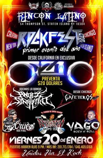Rock Fest 2017 New York - rock en espa�ol - rockeros.net