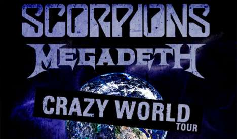 Scorpions Y Megadeth Crazy World Tour En Los Angeles - rock en espa�ol - rockeros.net