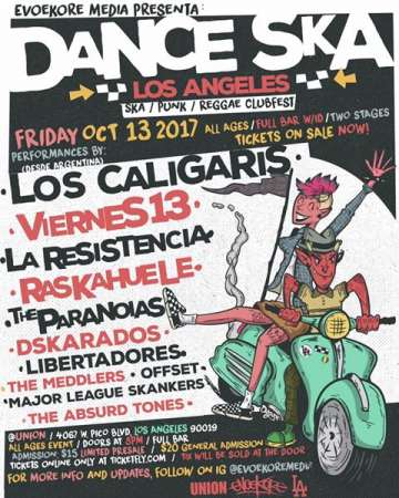 Dance Ska Los Angeles 2017 - rock en espa�ol - rockeros.net