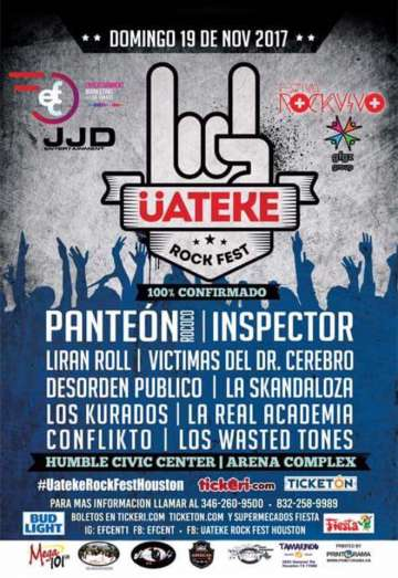 Uateke Rock Fest Houston - rock en espa�ol - rockeros.net