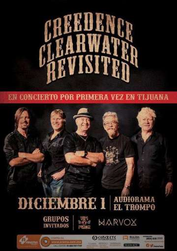 Creedence Clearwater Revisited En Tijuana - rock en espa�ol - rockeros.net