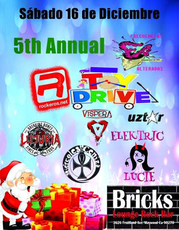 Frecuencias Alteradas Rockeros Net Toy Drive 2017 - rock en espa�ol - rockeros.net