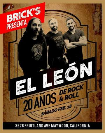 El Leon 20 Anos De Rock And Roll - rock en espa�ol - rockeros.net