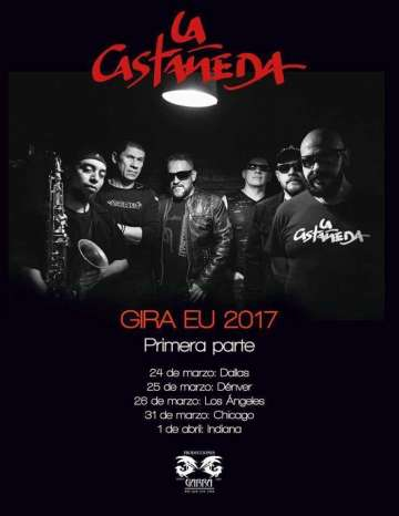La Castaneda En Los Angeles - rock en espa�ol - rockeros.net