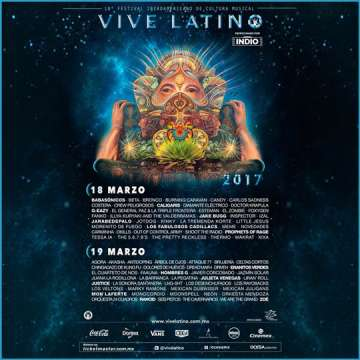 Vive Latino 2017 Domingo - rock en espa�ol - rockeros.net
